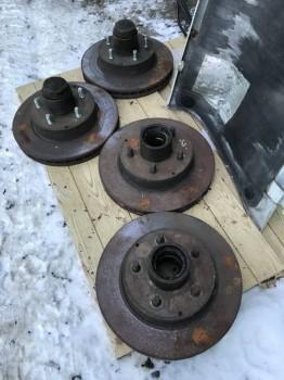 Диски тормозные б у под heavy duty ступицы , износ небольшой по 5000 руб за пару - 5098A05C-2724-4598-B852-250BC55AA078.jpeg