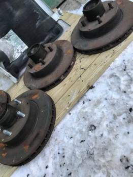 Могу собрать полный комплект под переделку тормозов под Heavy Duty ценник обсуждаемый - 1D12BF24-5EB8-4D5C-8D71-A89BEF98CADE.jpeg